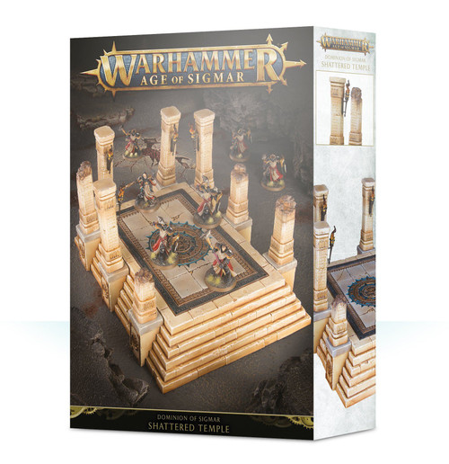 Warhammer Age of Sigmar Shattered Temple [Dominion of Sigmar]