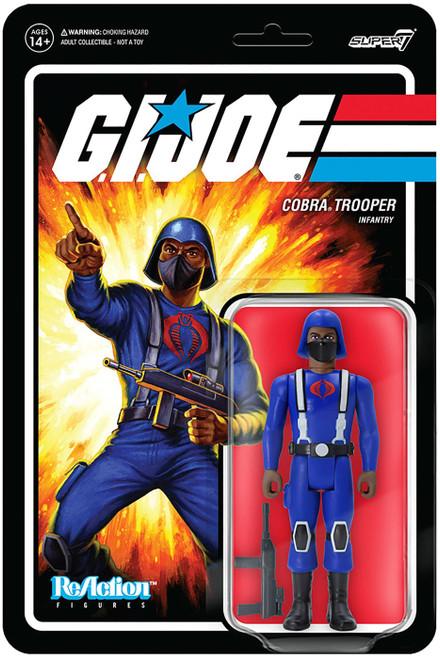 ReAction G.I. Joe Wave 1 Cobra Trooper Y-Back Action Figure [Brown] (Pre-Order ships November)
