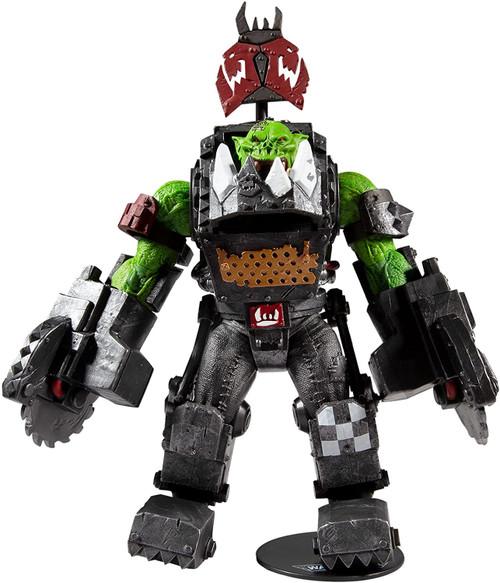 McFarlane Toys Warhammer 40,000 Ork Meganob with Buzzsaw MEGA Action Figure (Pre-Order ships January)
