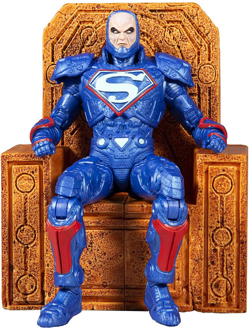 McFarlane Toys DC Multiverse Lex Luthor Power Suit Action Figure [BLUE with Throne] (Pre-Order ships November)