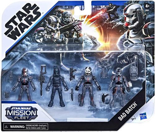 Star Wars Mission Fleet Bad Batch 2.5-Inch Figure 4-Pack