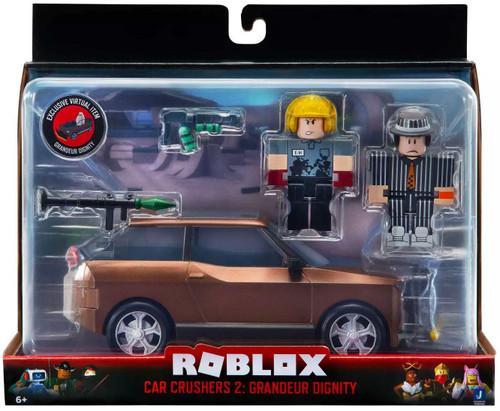 Roblox Car Crushers 2: Grandeur Dignity Vehicle & Action Figure