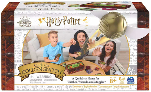 Harry Potter Wizarding World Catch the Golden Snitch Game [A Quidditch Game for Witches, Wizards, & Muggles]