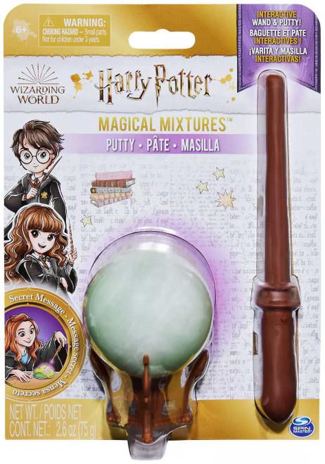 Harry Potter Wizarding World Magical Mixtures Secret Message Interactive Wand & Putty