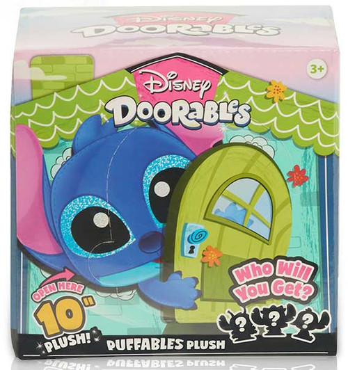 Disney Doorables Puffables Plush Stitch Mystery Pack