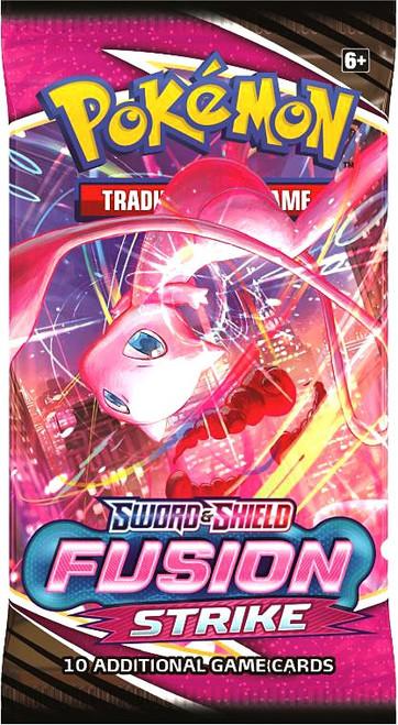 Pokemon Trading Card Game Sword & Shield Fusion Strike Booster Pack [10 Cards] (Pre-Order ships November)