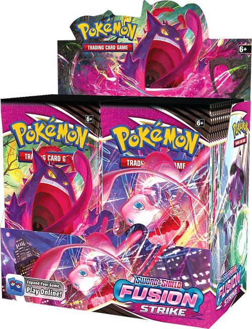 Pokemon Trading Card Game Sword & Shield Fusion Strike Booster Box [36 Packs] (Pre-Order ships November)