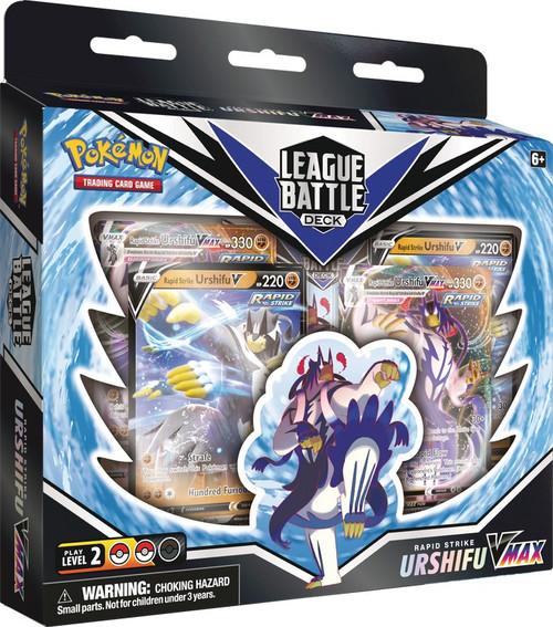 Pokemon Trading Card Game Sword & Shield Fusion Strike Rapid Strike Urshifu VMAX League Battle Deck (Pre-Order ships November)