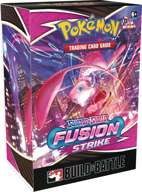 Pokemon Trading Card Game Sword & Shield Fusion Strike Build & Battle Box [4 Booster Packs & Promo Card] (Pre-Order ships January)
