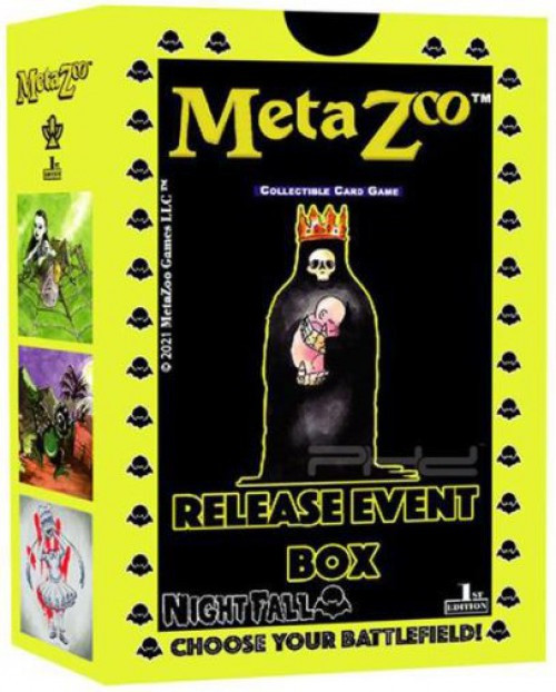 MetaZoo Trading Card Game Cryptid Nation Nightfall Release Event Box [1st Edition] (Pre-Order ships October)