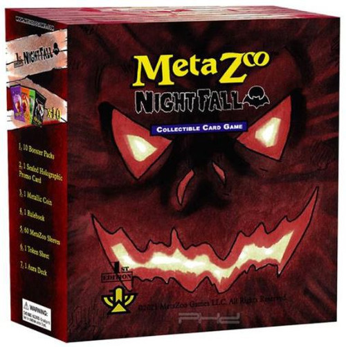 MetaZoo Trading Card Game Cryptid Nation Nightfall Spellbook [1st Edition] (Pre-Order ships October)