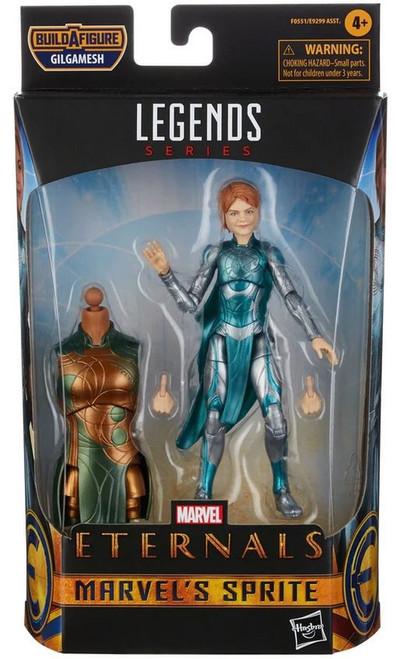 The Eternals Marvel Legends Gilgamesh Series Sprite Action Figure (Pre-Order ships January)