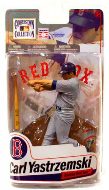 McFarlane Toys MLB Cooperstown Collection Series 7 Carl Yastrzemski (Boston Red Sox) Action Figure [Gray Jersey]