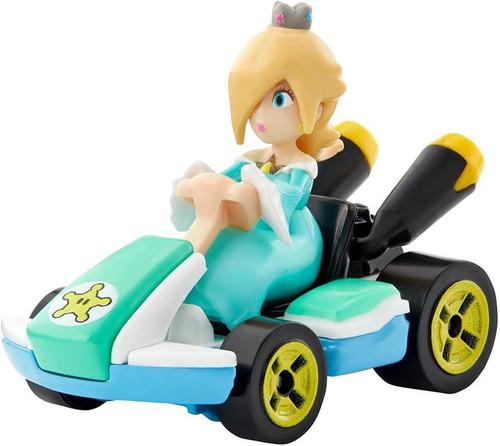 Hot Wheels Mario Kart Standard Kart Rosalina Diecast Car [Loose]