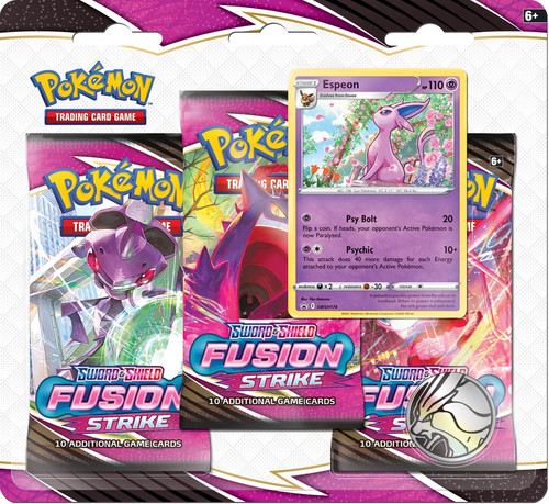Pokemon Trading Card Game Sword & Shield Fusion Strike Espeon Special Edition [3 Booster Packs & Promo Card] (Pre-Order ships November)