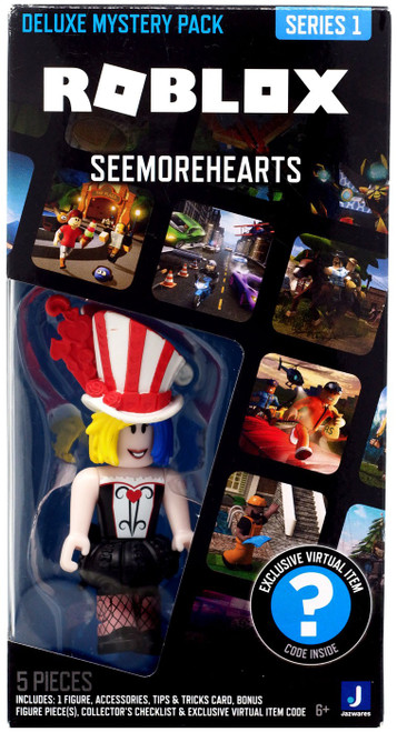Roblox Series 1 Seemorehearts 3-Inch Deluxe Mystery Pack