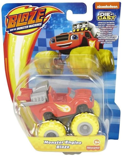 Fisher Price Blaze & the Monster Machines Monster Engine Blaze Diecast Car