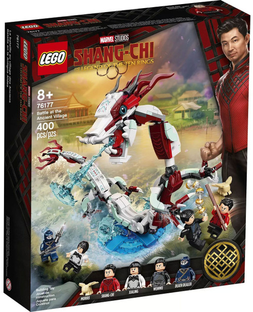 LEGO Marvel Shang-Chi and the Legend of the Ten Rings Battle at the Ancient Village Set #76177