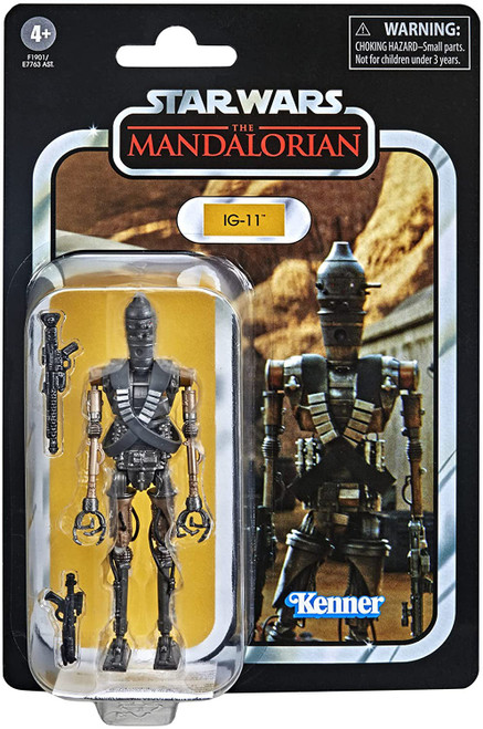 Star Wars The Mandalorian Vintage Collection IG-11 Action Figure (Pre-Order ships February)