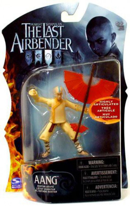 Avatar the Last Airbender Aang Action Figure [Avatar State, Damaged Package]