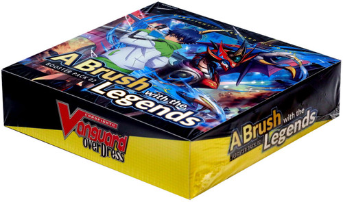 Cardfight Vanguard overDress A Brush with the Legends Booster Box VGE-D-BT02 [16 Packs]