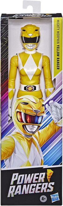 "Power Rangers Mighty Morphin Yellow Ranger Action Figure [12""]"