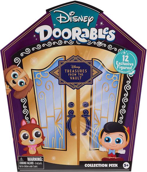 Disney Doorables Collection Peek Treasures From The Vault Exclusive Mystery Figure 12-Pack [RANDOM Figures]