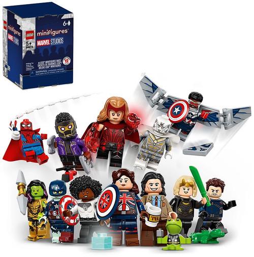 LEGO Minifigures Marvel Studios Minifigures Mystery 6-Pack #66678