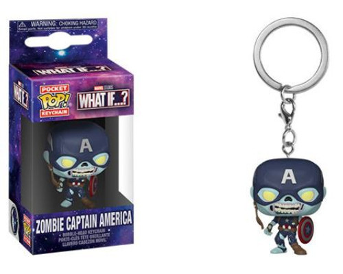 Funko What If Series 2 Zombie Captain America Keychain (Pre-Order ships )