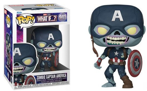 Funko What If Series 2 Zombie Captain America Vinyl Figure #941 (Pre-Order ships October)