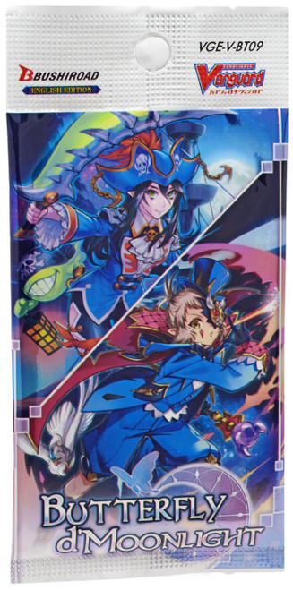 Cardfight Vanguard V Butterfly d'Moonlight Booster Pack [7 Cards]