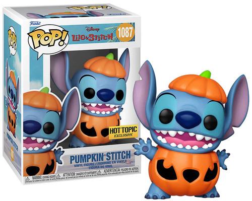 Funko Lilo & Stitch POP! Disney Pumpkin Stitch Exclusive Vinyl Figure #1087