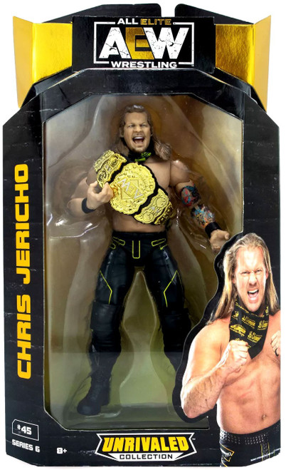 AEW All Elite Wrestling Unrivaled Collection Series 6 Chris Jericho Action Figure