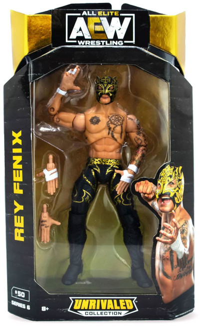 AEW All Elite Wrestling Unrivaled Collection Series 6 Rey Fenix Action Figure