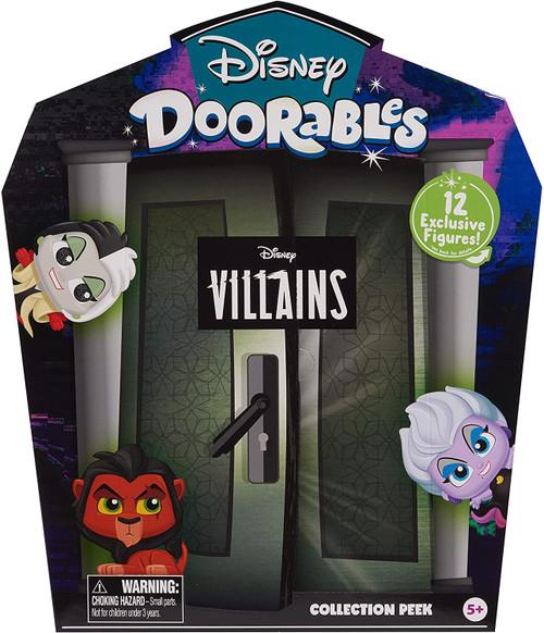 Disney Doorables Collection Peek Villains Exclusive Mystery Figure 12-Pack [RANDOM Figures]