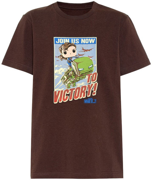 Funko Marvel What If? Join Us Now to Victory! Exclusive T-Shirt [2X-Large]