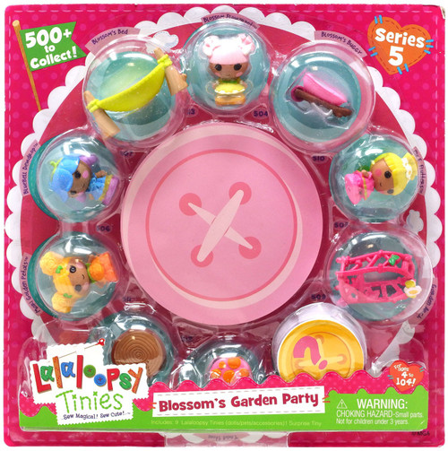 Lalaloopsy Series 5 Blossom's Garden Party 10-Pack