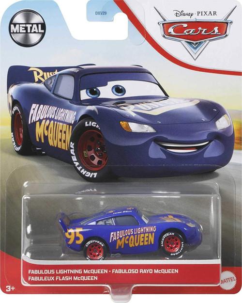 Disney / Pixar Cars Cars 3 Metal Fabulous Lightning McQueen Diecast Car