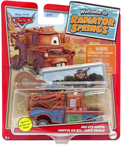 Disney / Pixar Cars Cars 3 Radiator Springs One Eye Mater Diecast Car