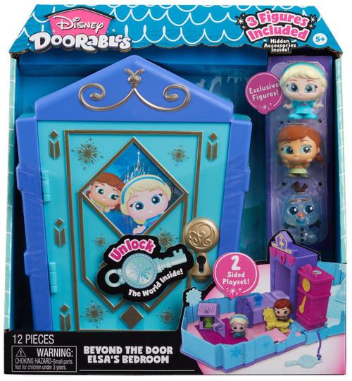 Disney Doorables Beyond the Door Elsa's Bedroom Playset