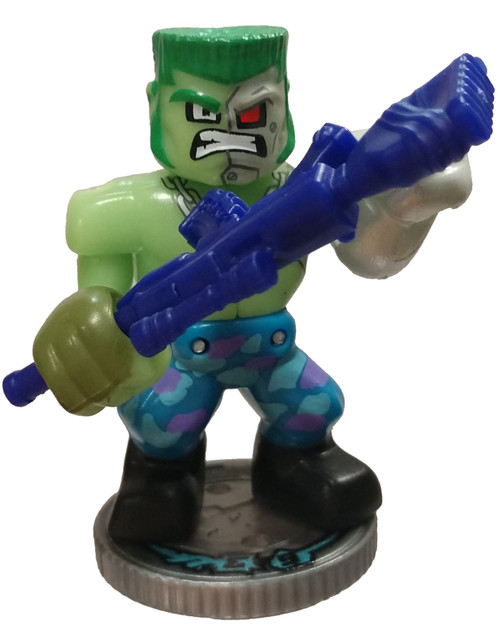 Akedo Ultimate Arcade Warriors Series 1 Toxinator Epic Action Figure [with Battle Controller Loose]