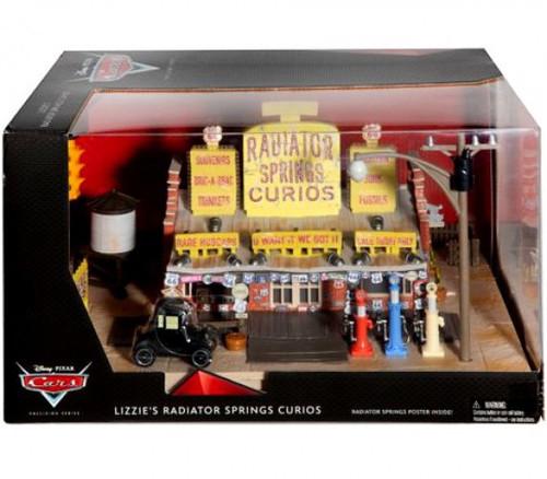 Disney / Pixar Cars Precision Series Lizzie's Radiator Springs Curios Shop Playset [Damaged Package]