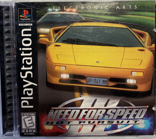 EA Playstation 1 Need for Speed III Hot Pursuit Video Game [Small Crack on Front of Case] [Used]