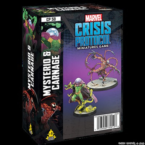 Marvel Crisis Protocol Mysterio & Carnage Character Pack