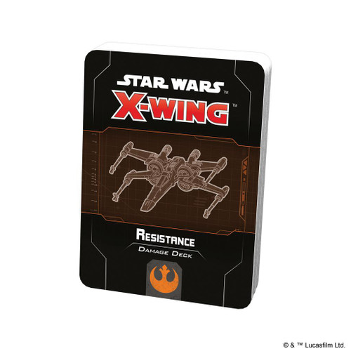 Star Wars X-Wing Miniatures Game Resistance Damage Deck Expansion Pack [2nd Edition]