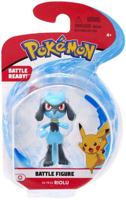 Pokemon Battle Figure Riolu 2-Inch Mini Figure