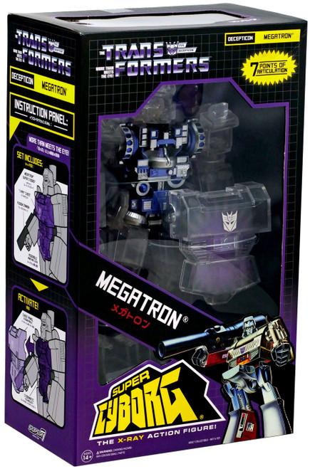 """Transformers Super Cyborg Megatron 3.75"""" Action Figure [Translucent]"""