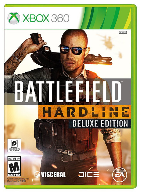 Dice Xbox 360 Battlefield Hardline : Deluxe Edition Video Game [Used]