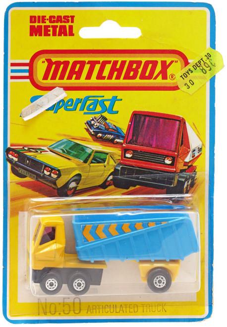 Matchbox Superfast No: 50 Articulated Truck Diecast Vehicle