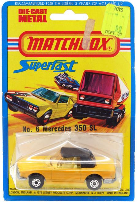 Matchbox Superfast No: 6 Mercedes 350 SL Diecast Vehicle